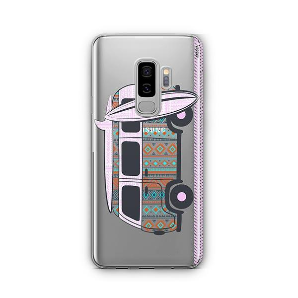 Hipster Van - Samsung Galaxy S9 Plus Case Clear