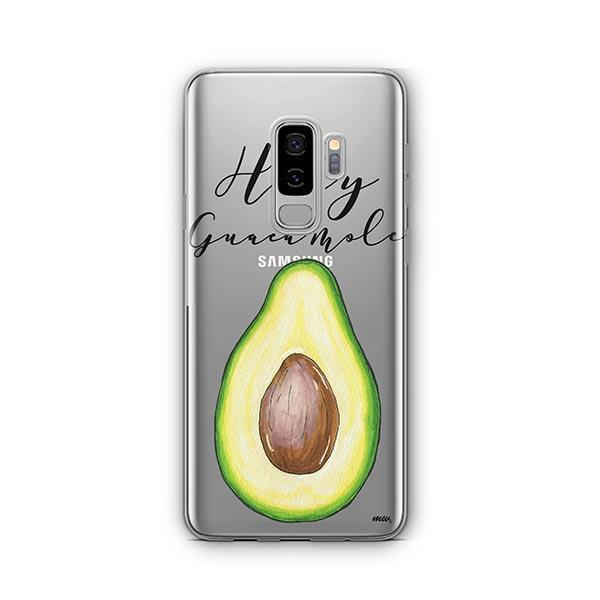 Holy Guacamole - Samsung Galaxy S9 Plus Case Clear