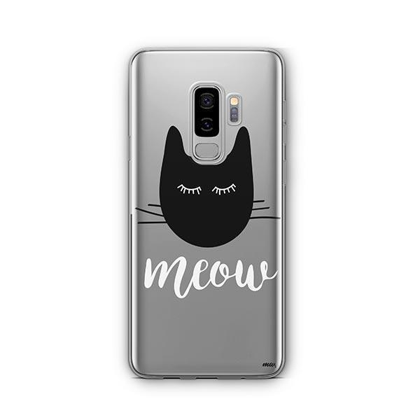 Meow -  Samsung Galaxy S8 Plus Clear Case
