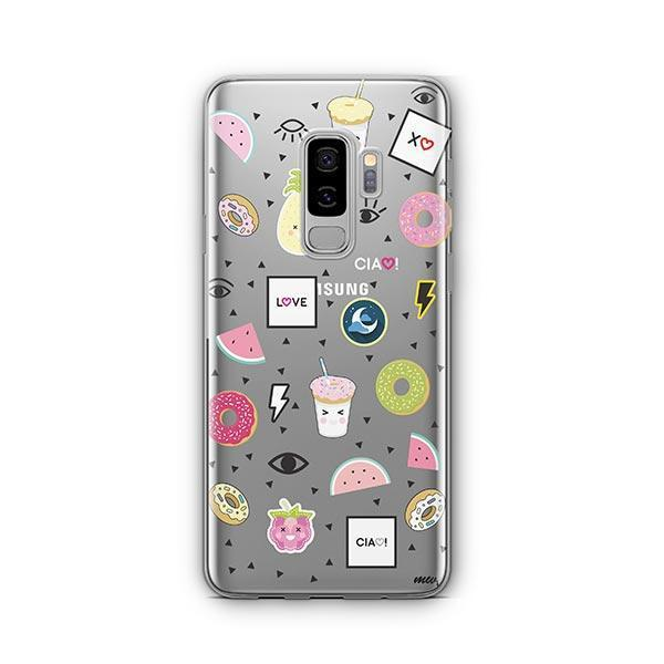 The Patch - Samsung Galaxy S9 Plus Case Clear