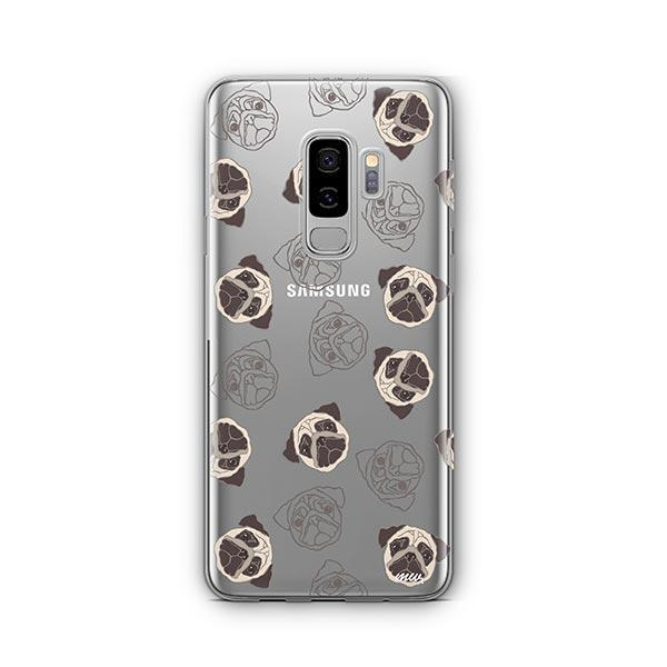 Pug Overload -  Samsung Galaxy S8 Plus Clear Case