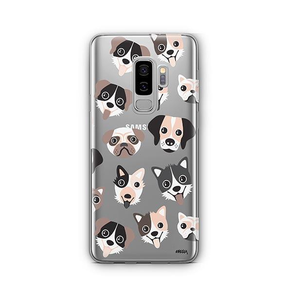 Puppy Love -  Samsung Galaxy S8 Plus Clear Case
