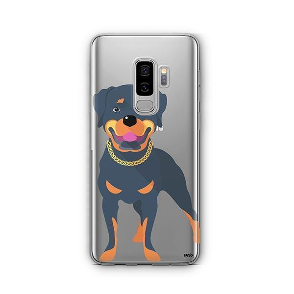 Rottweiler -  Samsung Galaxy S8 Plus Clear Case