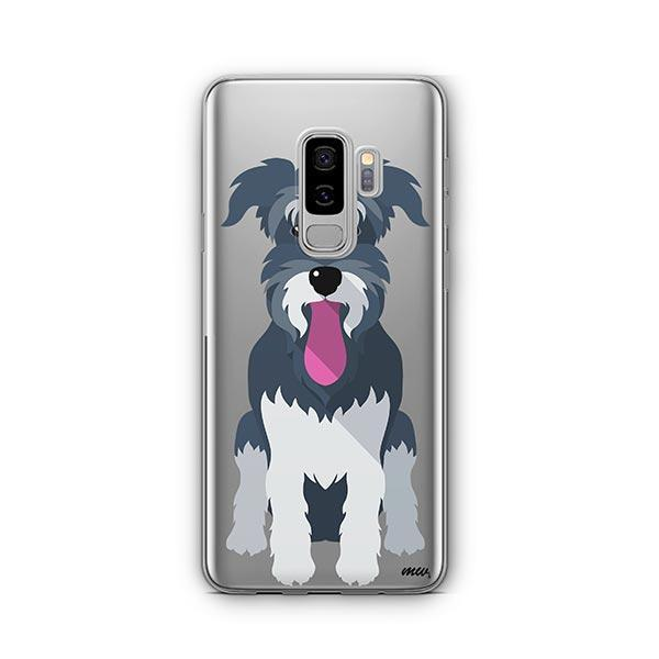 Schnauzer -  Samsung Galaxy S8 Plus Clear Case