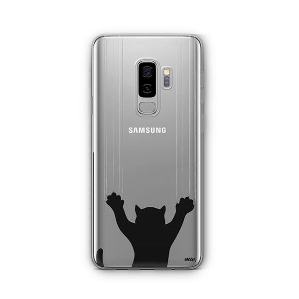 Scratchy Cat -  Samsung Galaxy S8 Plus Clear Case
