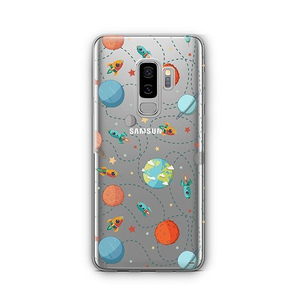 Space Case - Samsung Galaxy S9 Plus Case Clear