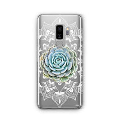 Succulent Mandala - Samsung Galaxy S8 Plus Case Clear