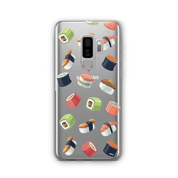Sushi Lover - Samsung Galaxy S9 Plus Case Clear