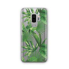 Tropical Palm Leaves - Samsung Galaxy S8 Plus Case Clear