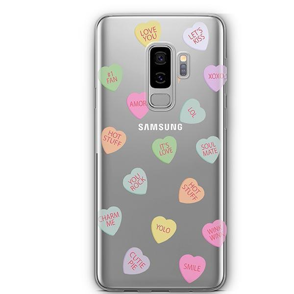 Valentines Candy - Samsung Galaxy S8 Plus Case Clear