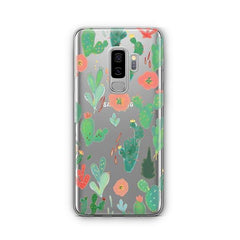 Watercolor Cactus - Samsung Galaxy S8 Plus Case Clear