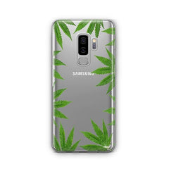 Weed Frame - Samsung Galaxy S8 Plus Case Clear