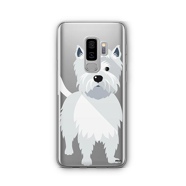 Westie -  Samsung Galaxy S8 Plus Clear Case