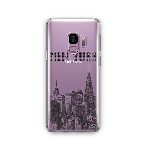 The Big Apple - Samsung Galaxy S9 Case Clear