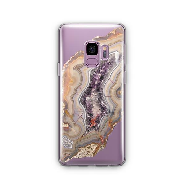 Agate - Samsung Galaxy S9 Case Clear