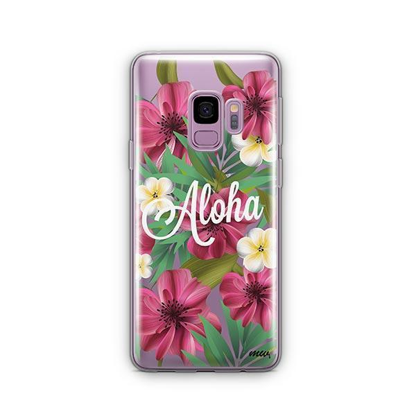 Aloha 2.0 - Samsung Galaxy S9 Case Clear