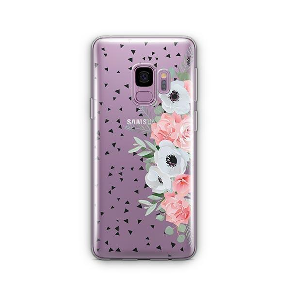 Anemone Rose - Samsung Galaxy S9 Case Clear