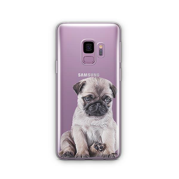 Baby Pug -  Samsung Galaxy S9 Clear Case