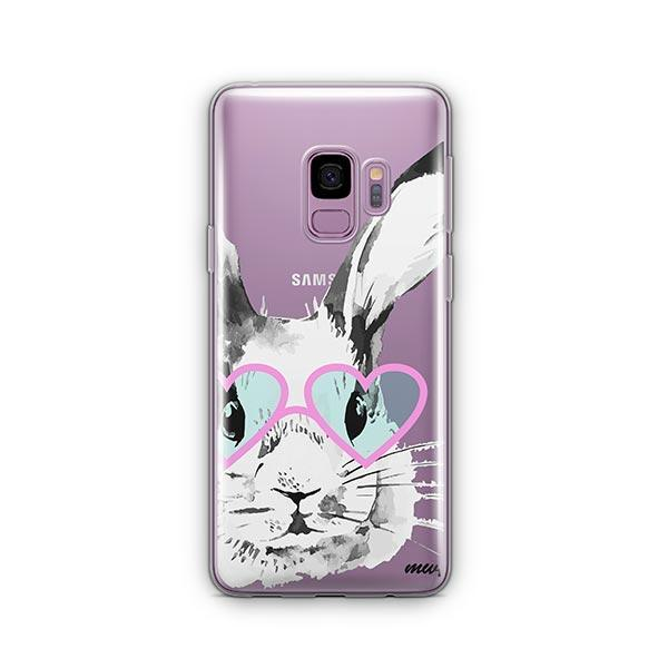 Beverly Hills Bunny -  Samsung Galaxy S9 Case Clear