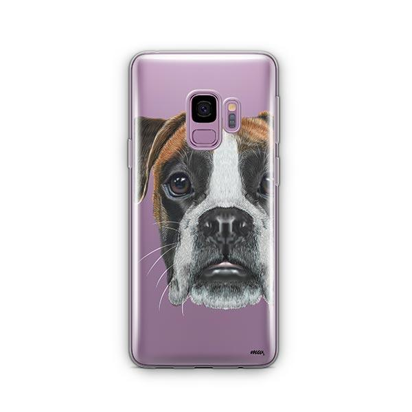 Boxer -  Samsung Galaxy S9 Clear Case
