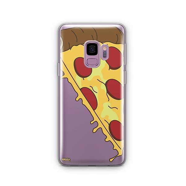 Pizza Slice - Samsung Galaxy S9 Case Clear