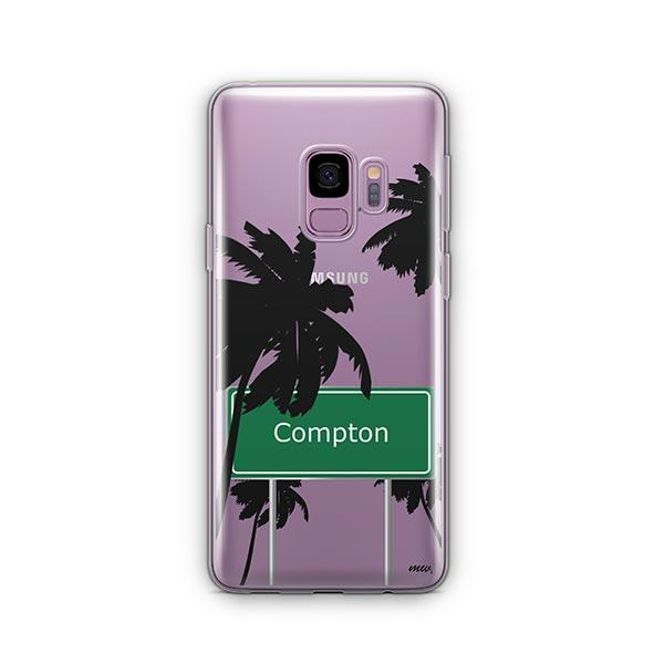 Compton - Samsung Galaxy S9 Case Clear