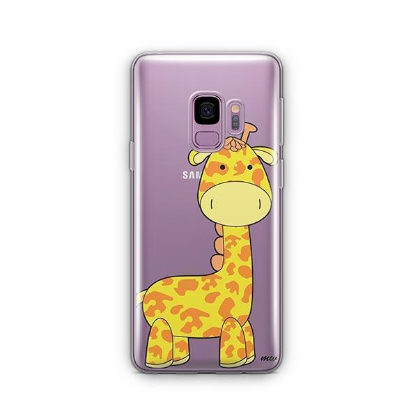 Cute Giraffe -  Samsung Galaxy S9 Case Clear
