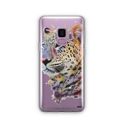 Dripping Leopard - Samsung Clear Case