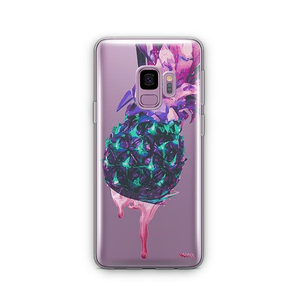 Dripping Pineapple - Samsung Galaxy S9 Case Clear
