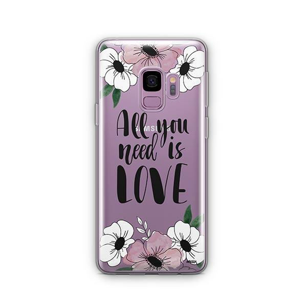 All You Need is Love - Samsung Galaxy S9 Case Clear