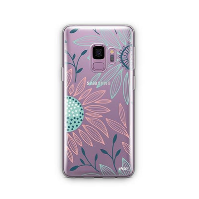 Floral Patch - Samsung Clear Case