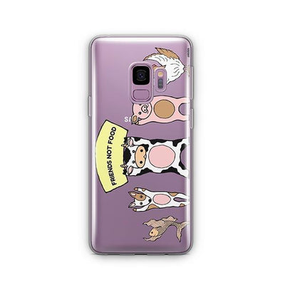 Friends Not Food - Samsung Clear Case