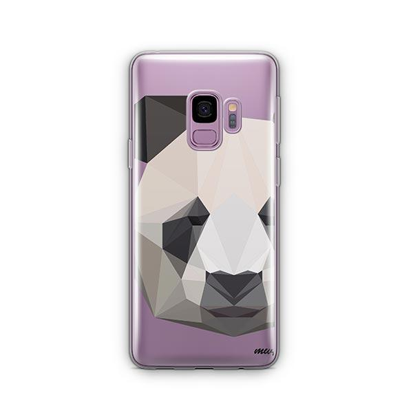 Geo Panda -  Samsung Galaxy S9 Case Clear