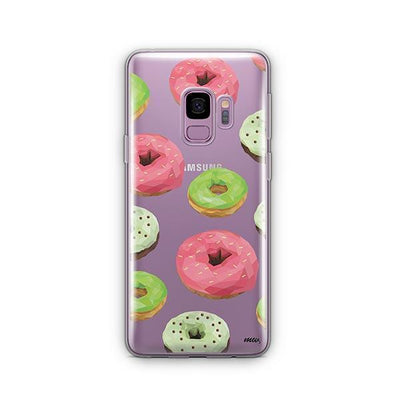 Geometric Donut - Samsung Clear Case