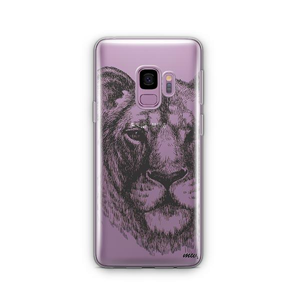 Lioness -  Samsung Galaxy S9 Case Clear
