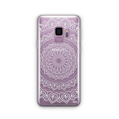 Mandala Hearts - Samsung Clear Case