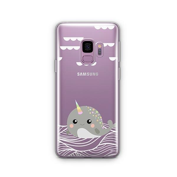 Narwhal -  Samsung Galaxy S9 Case Clear