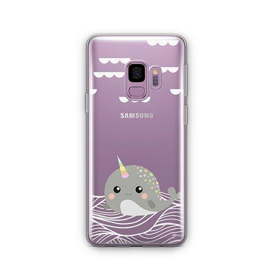 Narwhal - Samsung Clear Case