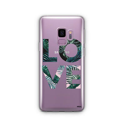 Palm Tree Love - Samsung Clear Case