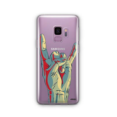 Rock On - Samsung Clear Case