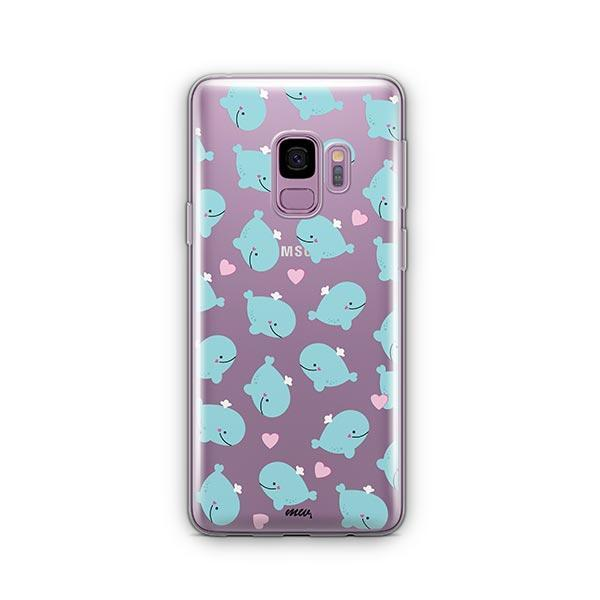 Whale Tale -  Samsung Galaxy S9 Case Clear
