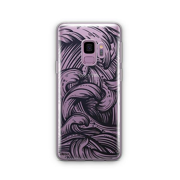 New Wave - Samsung Galaxy S9 Case Clear