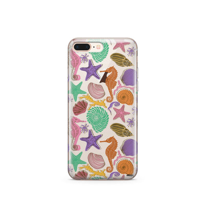 Sea Life - Clear TPU Case Cover - Milkyway Cases -  iPhone - Samsung - Clear Cut Silicone Phone Case Cover