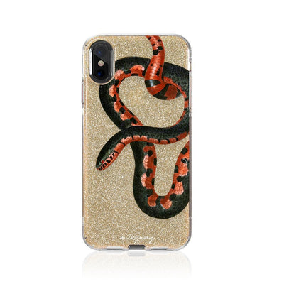 Serpent Glitter Hybrid Case