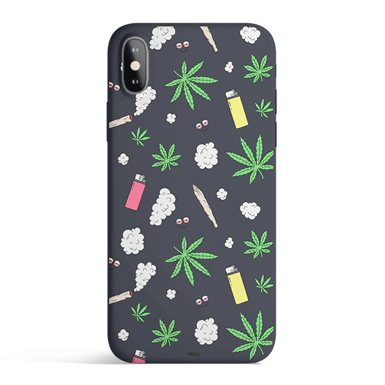 Sky High - Colored Candy Cases Matte TPU iPhone Cover