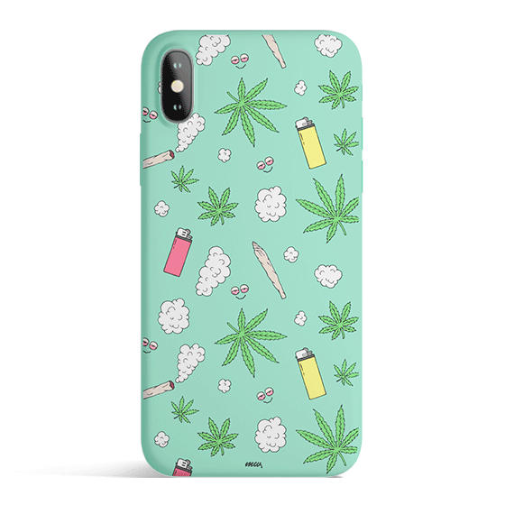 Sky High - Colored Candy Matte TPU iPhone Case Cover - Milkyway Cases -  iPhone - Samsung - Clear Cute Silicone Phone Case Cover