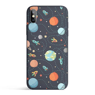 Space Case - Colored Candy Cases Matte TPU iPhone Cover