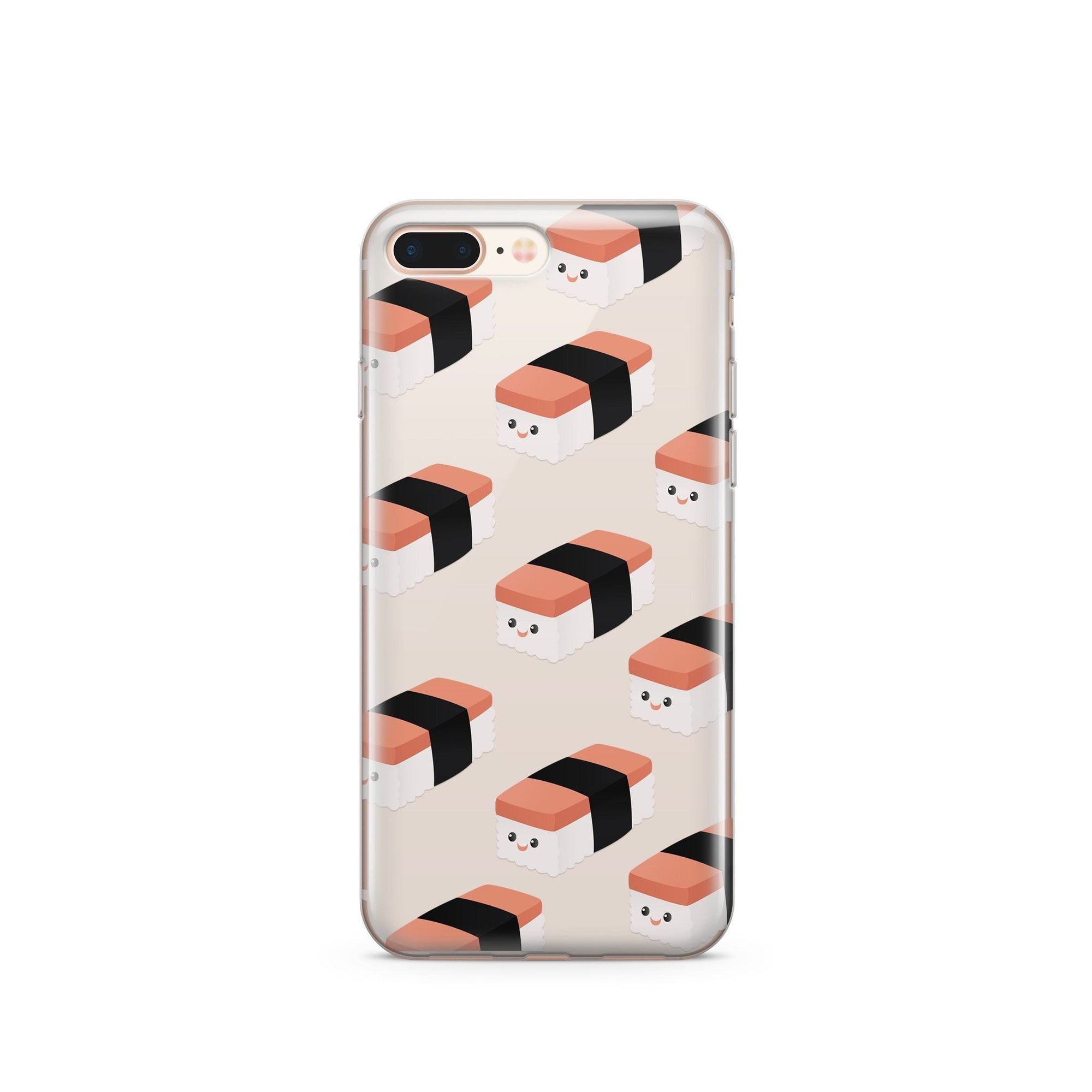 Spam Musubi Clear Case Cover Milkyway