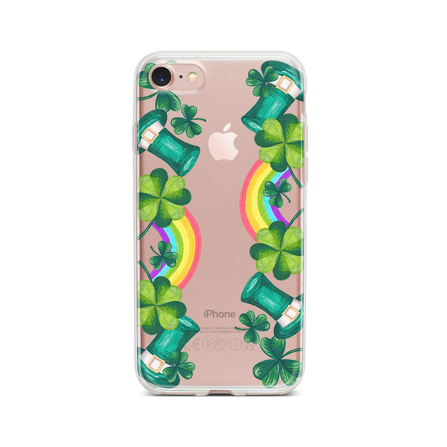 St. Patricks Essentials - Clear TPU Case Cover - Milkyway Cases -  iPhone - Samsung - Clear Cut Silicone Phone Case Cover