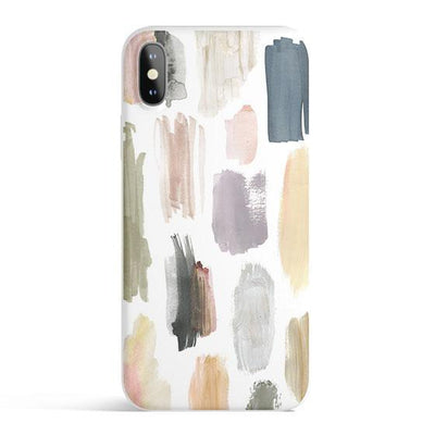 Strokes - Colored Candy Cases Matte TPU iPhone Cover
